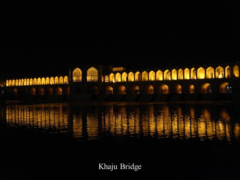 Khaju Bridge, Esfahan, Iran