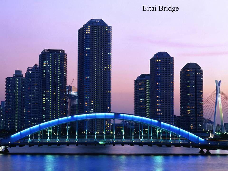 Eitai Bridge ( 永代橋 ), Tokyo, Japan