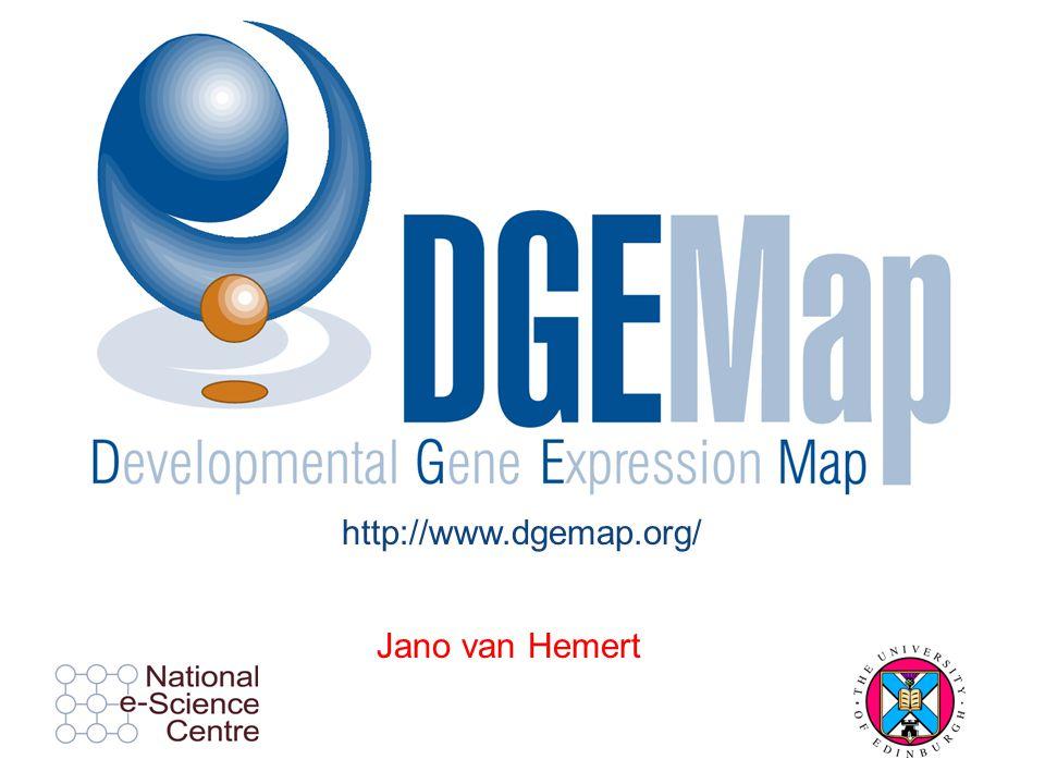 Jano van Hemert http://www.dgemap.org/