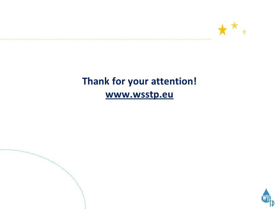Thank for your attention! www.wsstp.eu
