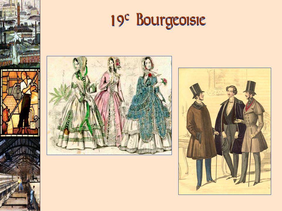 19 c Bourgeoisie