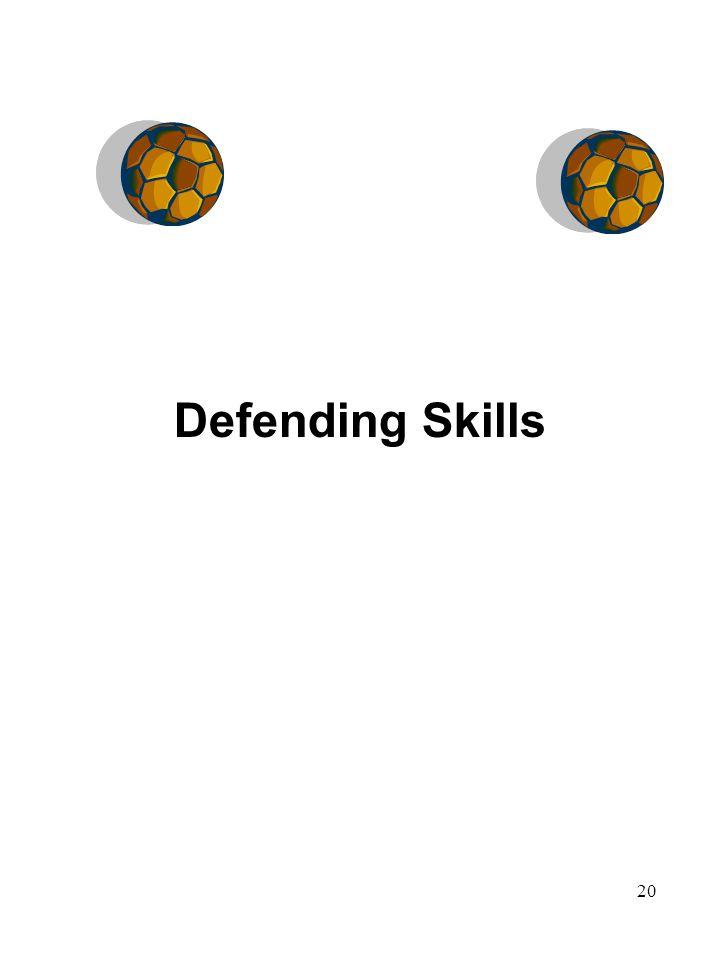 20 Defending Skills