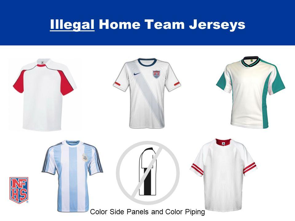 Legal Home Team Jerseys