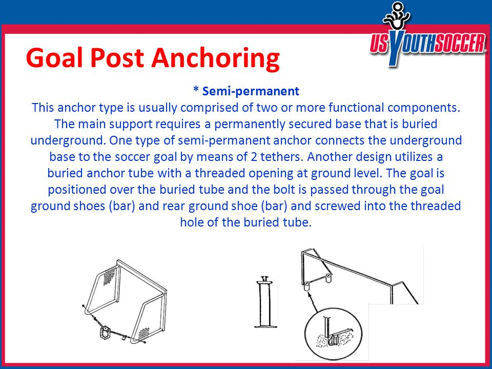 * Semi-permanent This anchor type is usually comprised of two or more functional components.