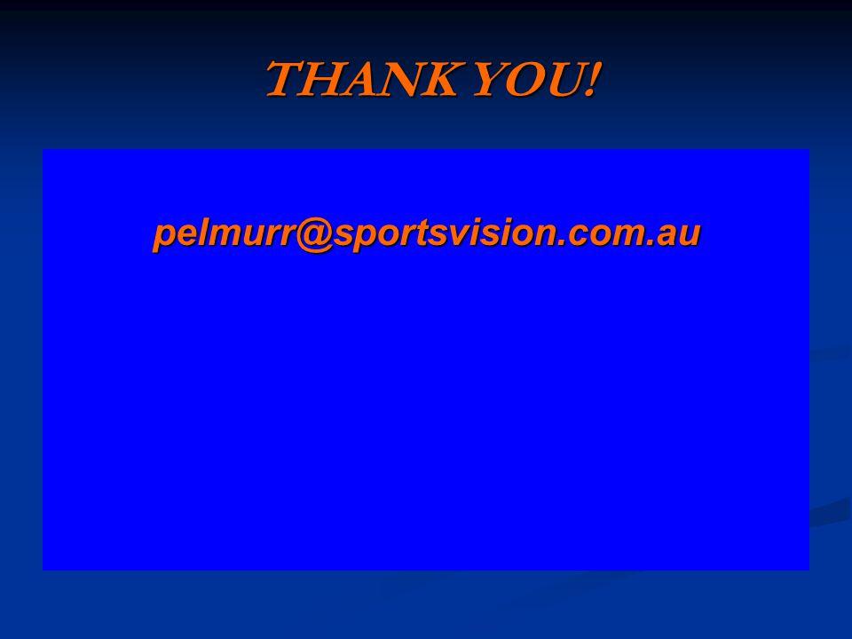 THANK YOU! pelmurr@sportsvision.com.au