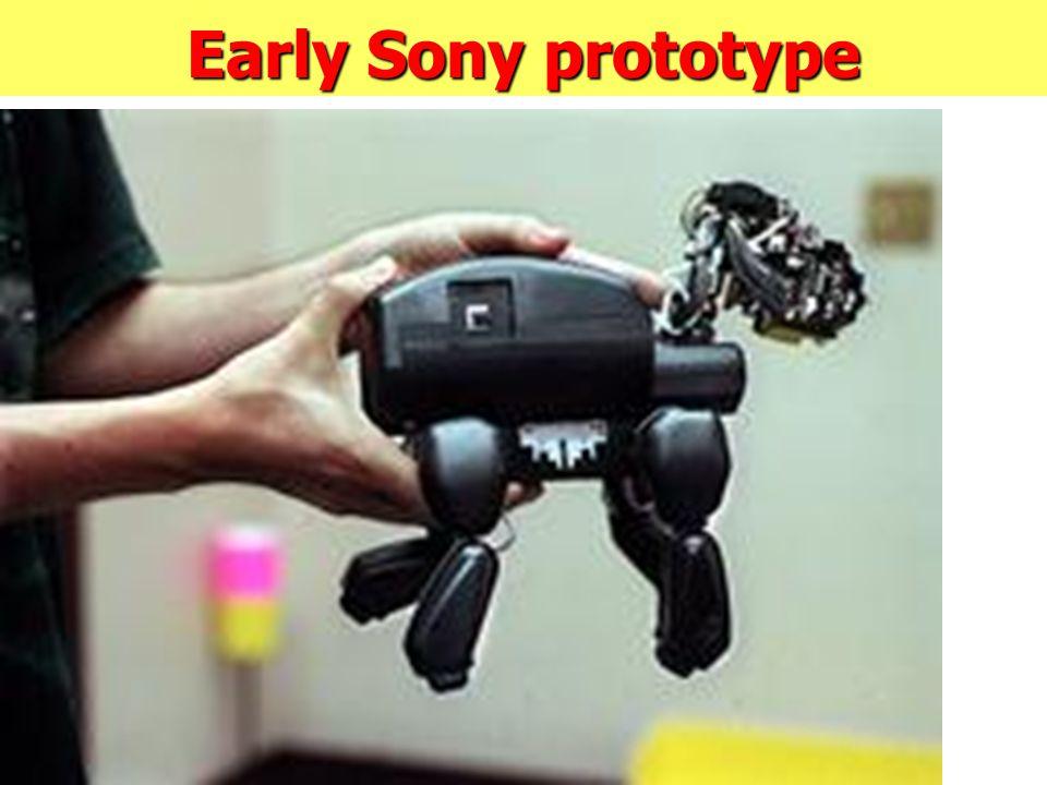 Early Sony prototype