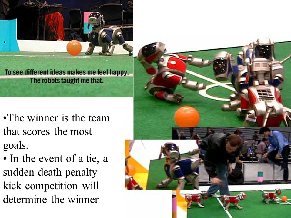 The winner is the team that scores the most goals. In the event of a tie, a sudden death penalty kick competition will determine the winner
