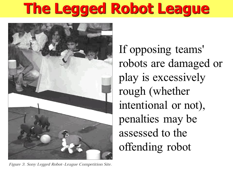 If opposing teams robots are damaged or play is excessively rough (whether intentional or not), penalties may be assessed to the offending robot