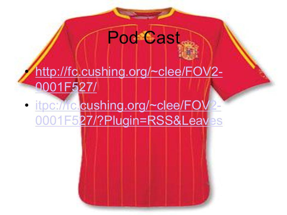Pod Cast http://fc.cushing.org/~clee/FOV2- 0001F527/http://fc.cushing.org/~clee/FOV2- 0001F527/ itpc://fc.cushing.org/~clee/FOV2- 0001F527/ Plugin=RSS&Leavesitpc://fc.cushing.org/~clee/FOV2- 0001F527/ Plugin=RSS&Leaves