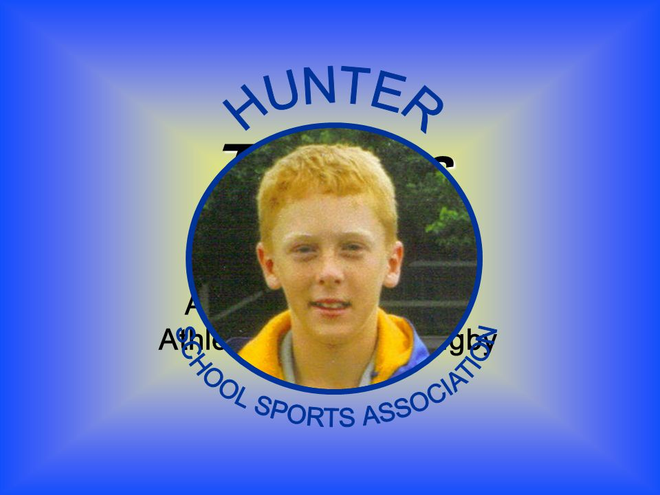 Thomas RINKIN Achievement Award – Athletics / Cricket / Rugby Union