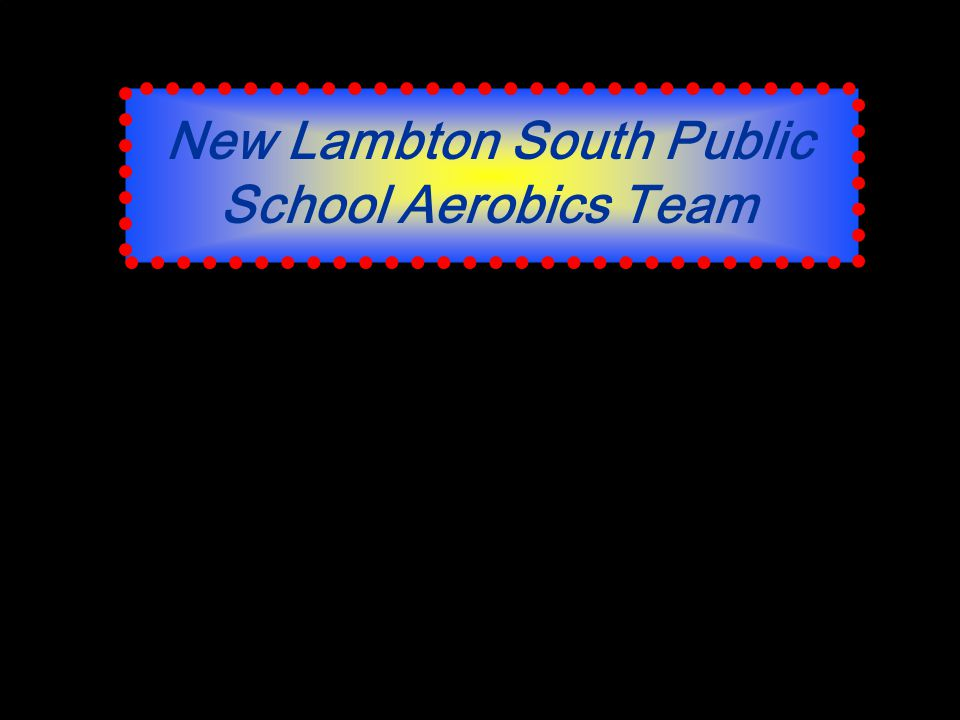New Lambton South Public School Aerobics Team