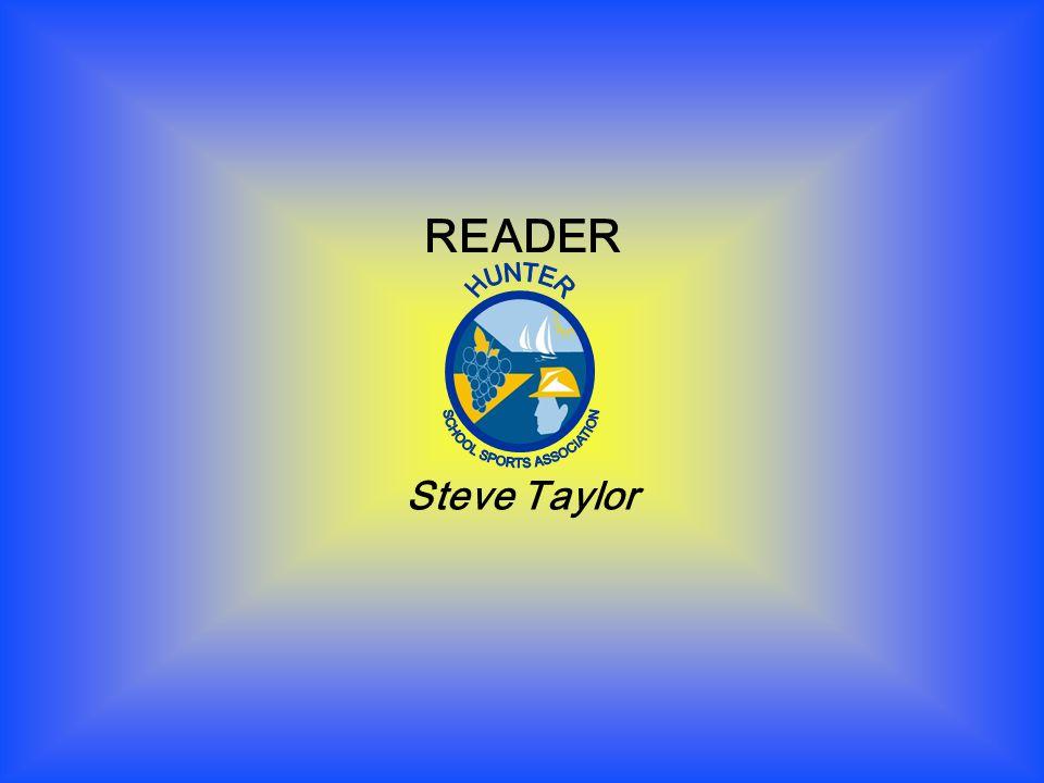 READER Steve Taylor