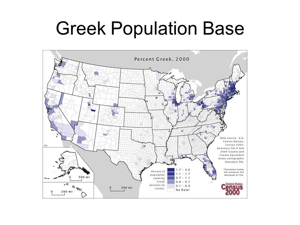 Greek Population Base