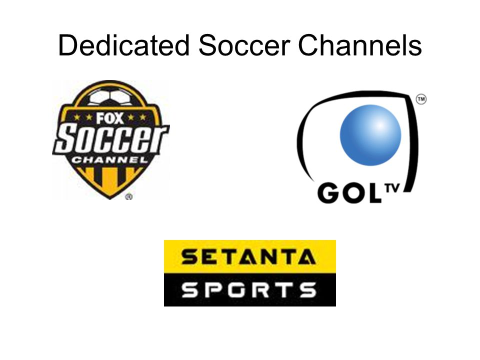 Dedicated Soccer Channels