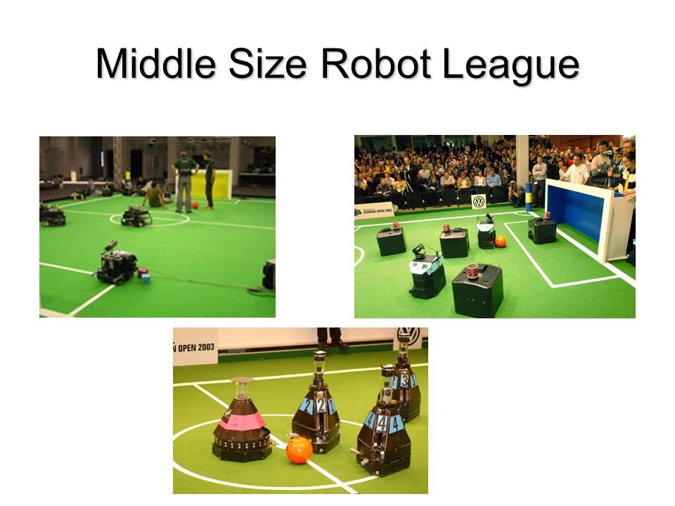 Middle Size Robot League