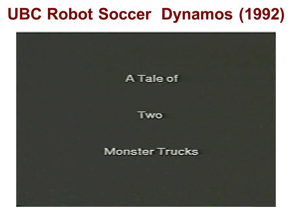 UBC Robot Soccer Dynamos (1992)