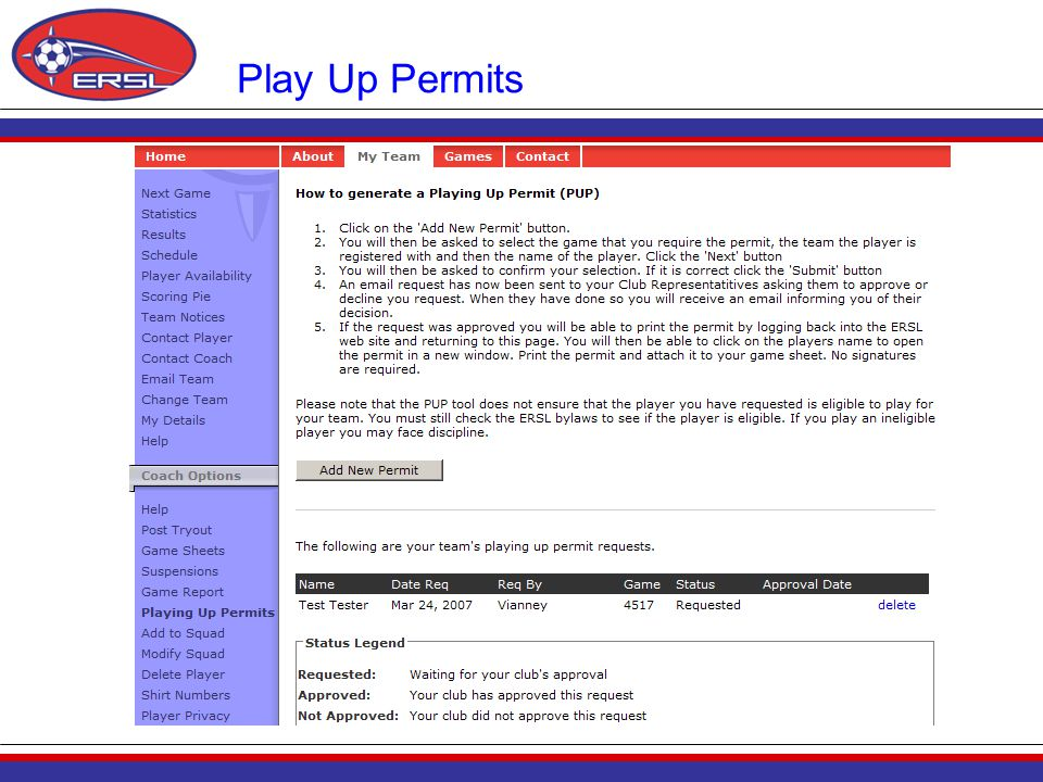 Play Up Permits