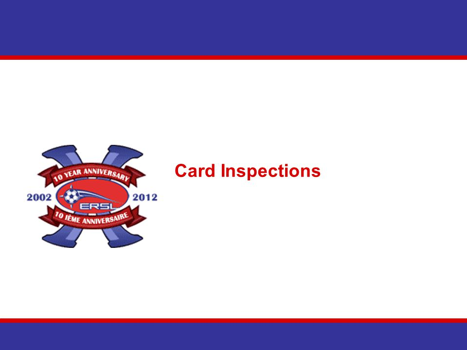 Card Inspections