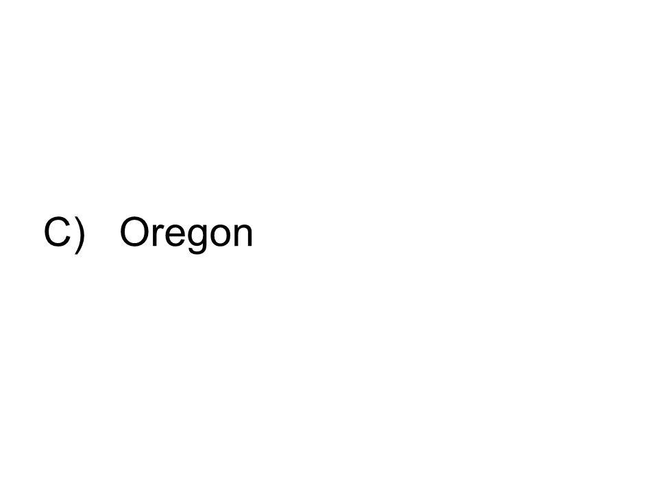 C) Oregon