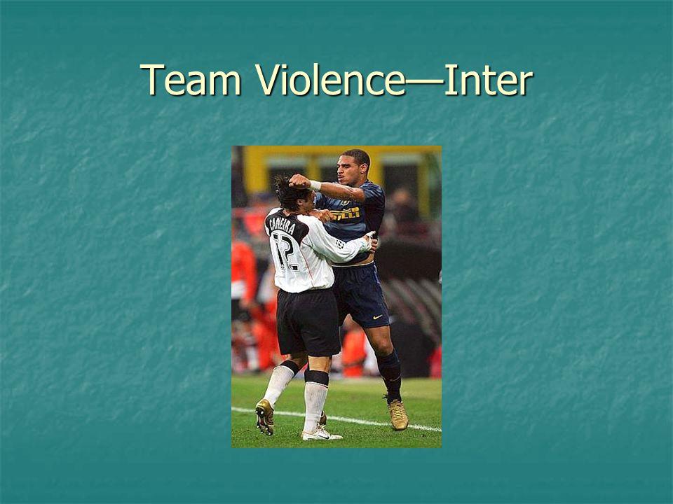 Team Violence—Inter