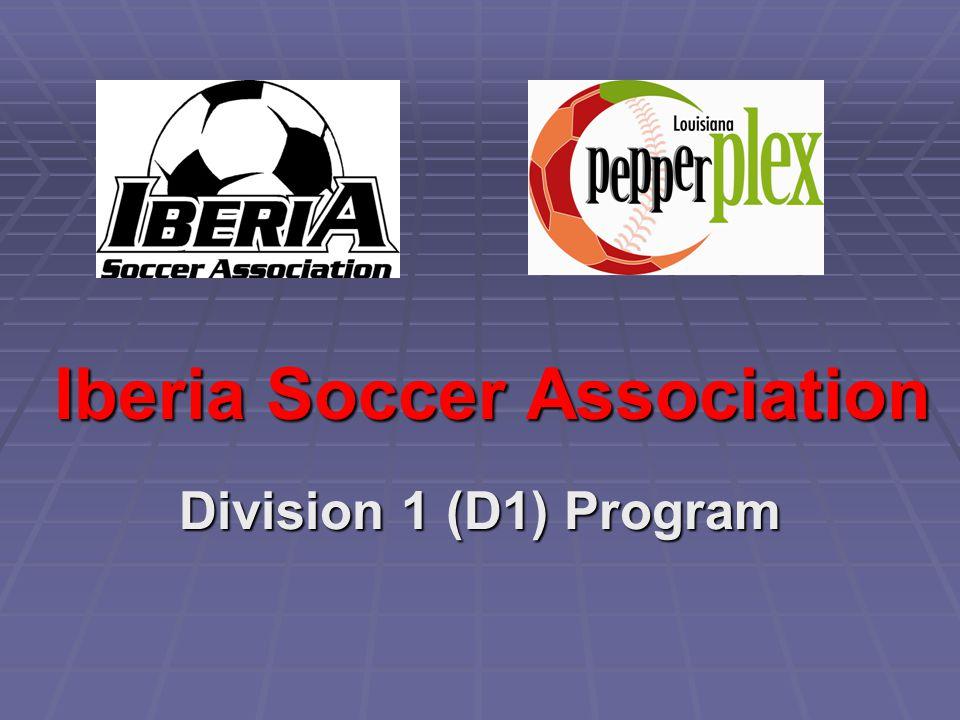 Iberia Soccer Association Division 1 (D1) Program