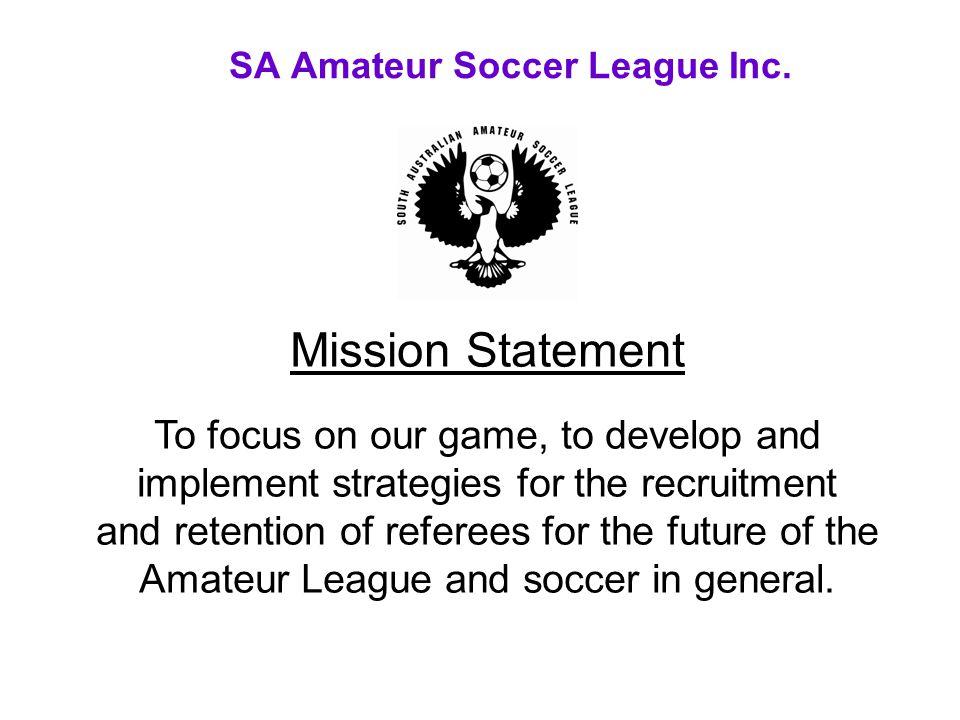 SA Amateur Soccer League Inc.