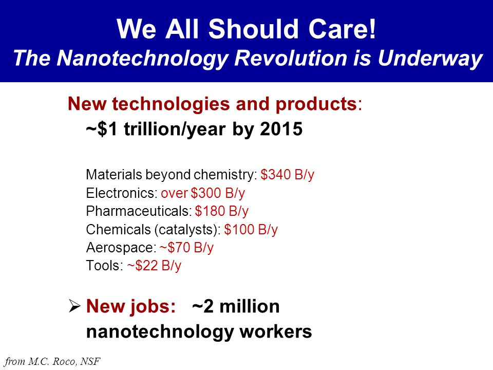 Are there any nanotechnologies in use today?