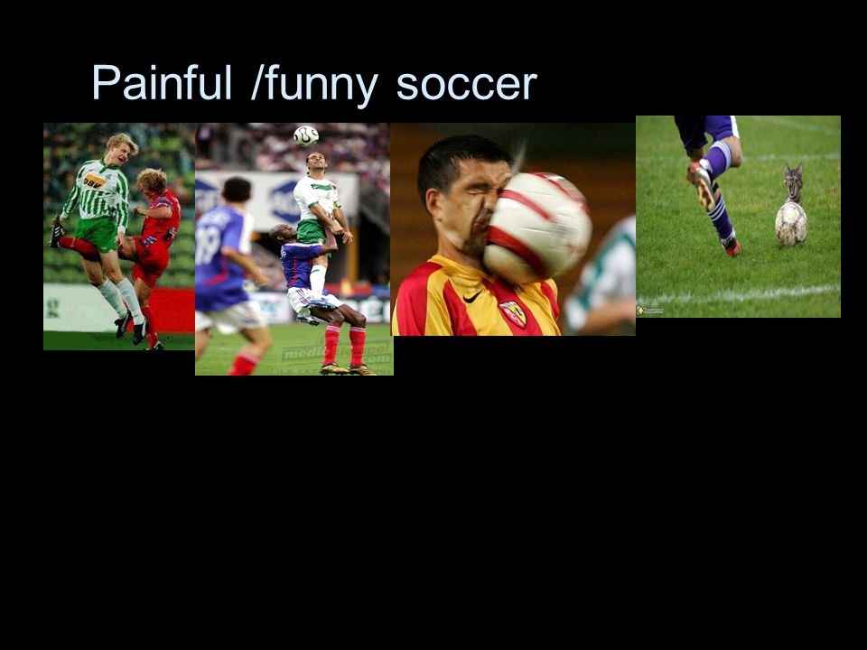 Painful /funny soccer