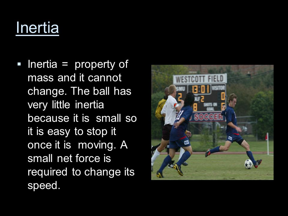 Energy s and momentum  When you kick a soccer ball you are using energy, both potential and kinetic.