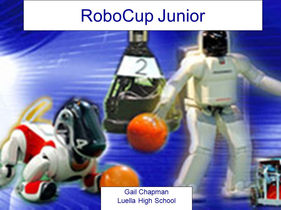 RoboCup Junior RoboCup Junior is a project-oriented educational initiative that sponsors local, regional and international robotic events for young students up through age 19.