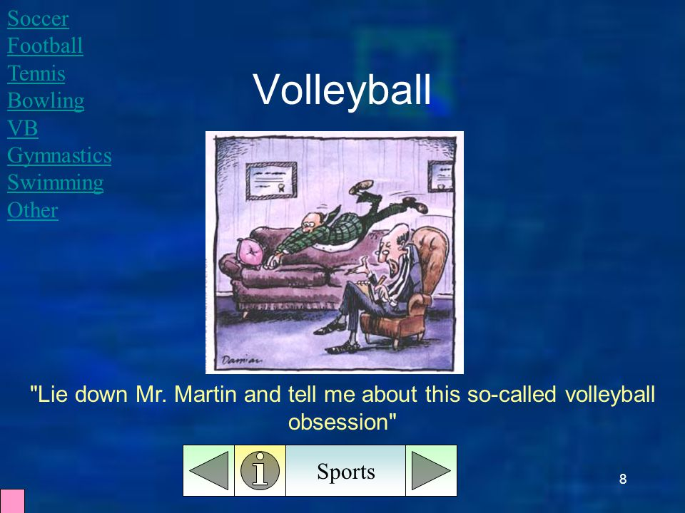8 Volleyball Sports