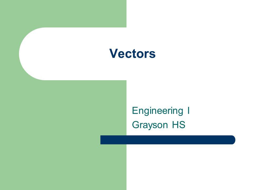 Vectors Engineering I Grayson HS