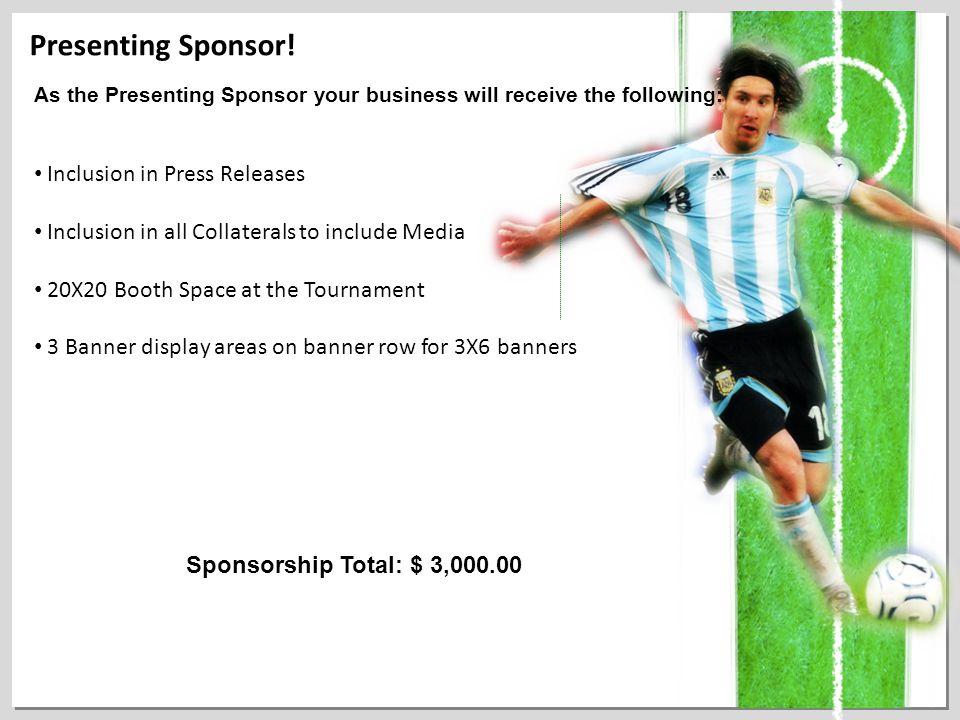 Presenting Sponsor.