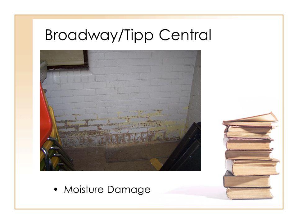 Broadway/Tipp Central Moisture Damage