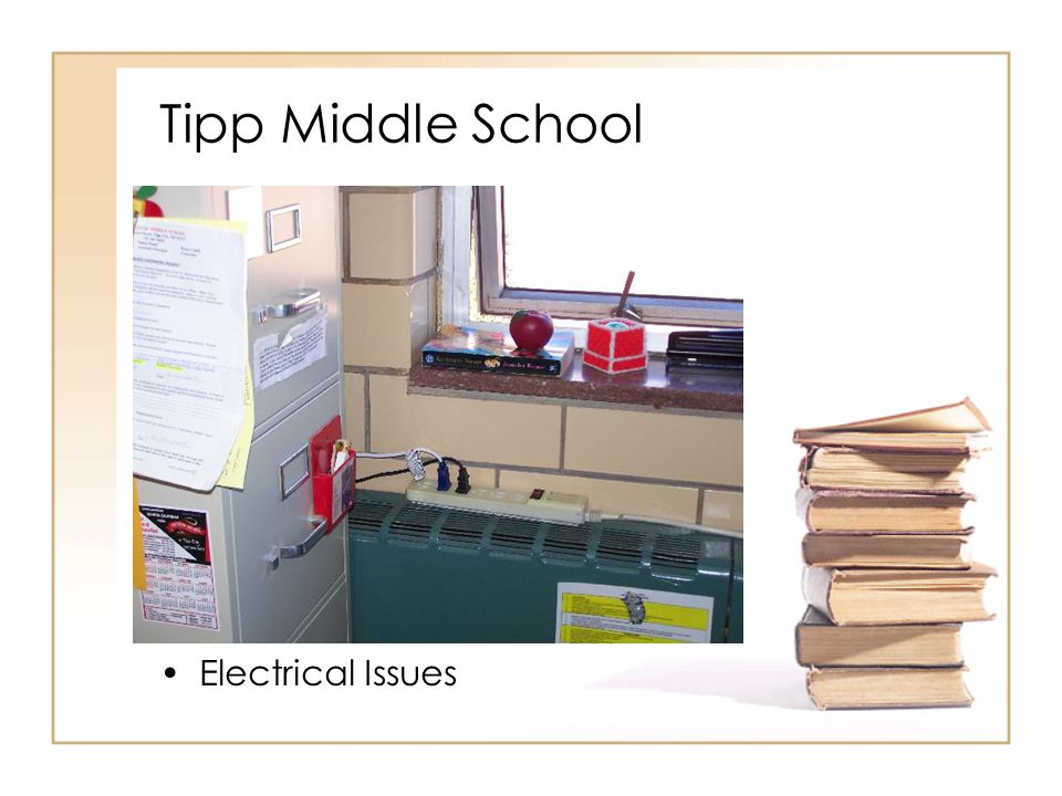 Tipp Middle School Electrical Issues