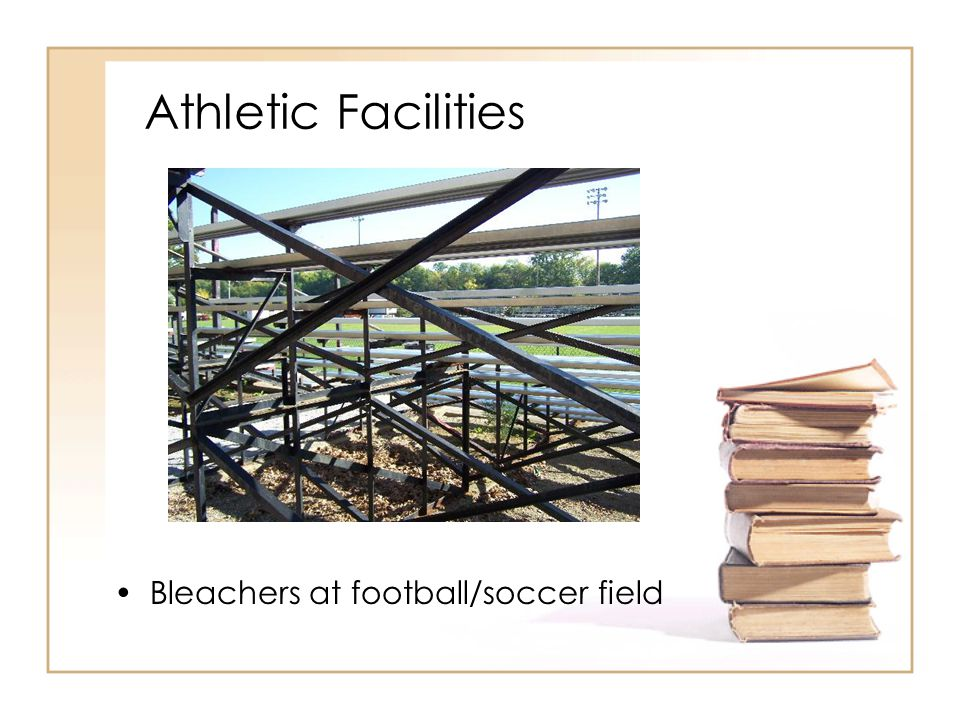 Athletic Facilities Bleachers at football/soccer field