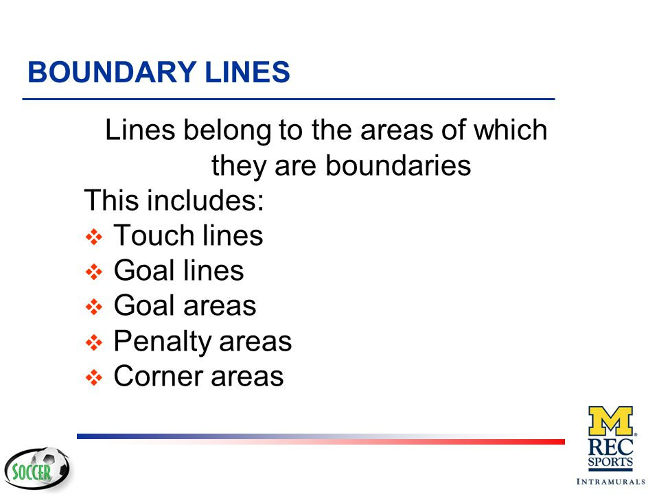 BALL IS IN PLAY 1.If ball rebounds from 1. Goalpost, or 2.