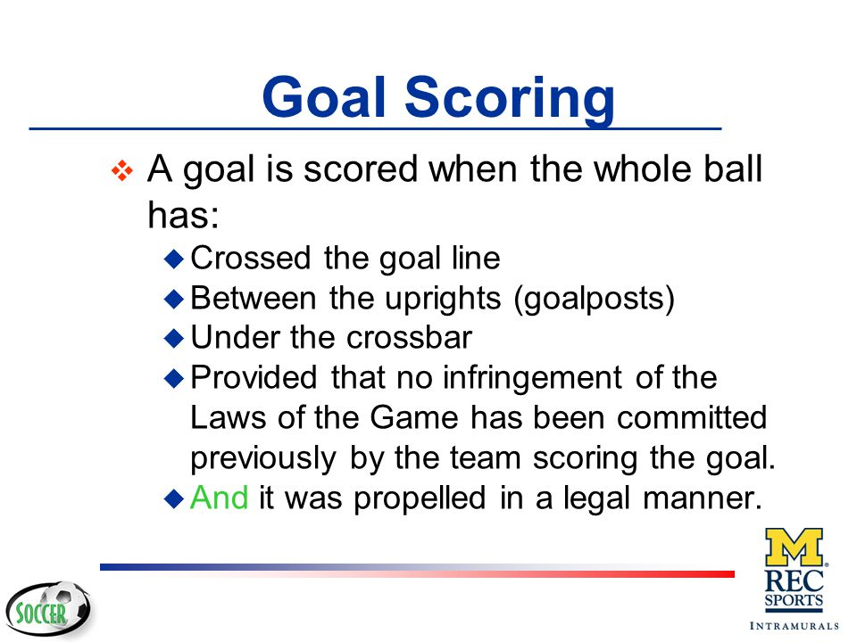 v After ball is in play: u All fouls per Law 12 u Penalize per Law 12 DANGERS Corner kicks are a potentially dangerous situation.