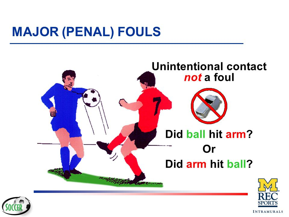 No Foul.No Foul. Reasoning… Player did not initiate the action INTENT v However...