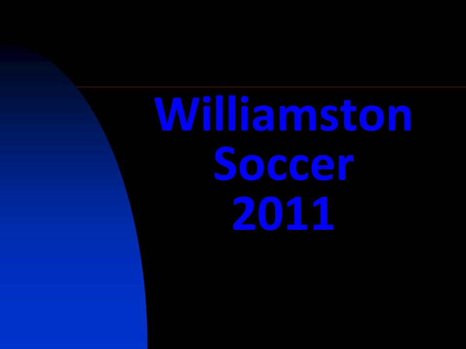 Williamston Soccer 2011