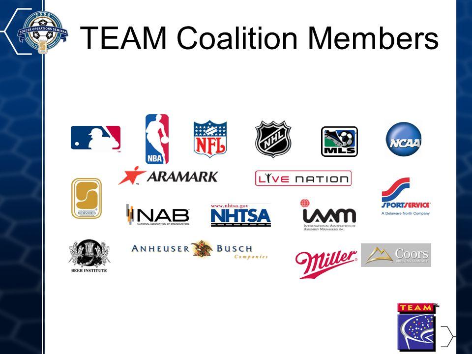 3 TEAM Coalition Members