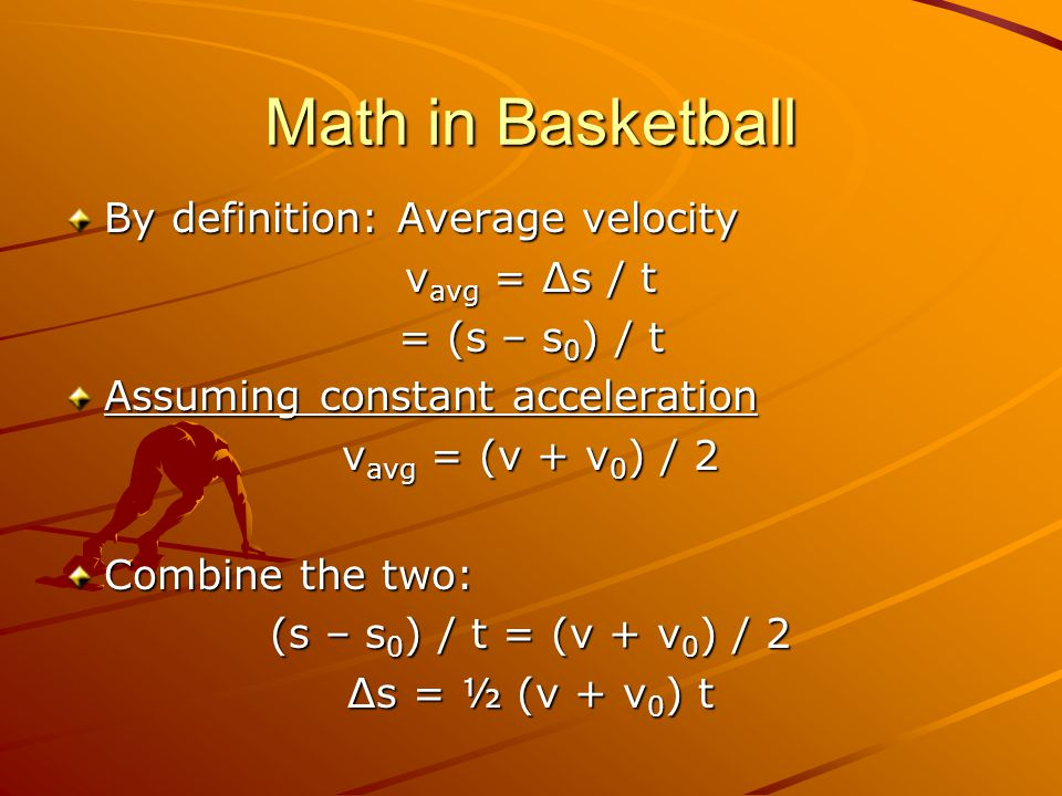Math in Baseball Pitching a Curve Ball –Ball thrown with a downward spin.