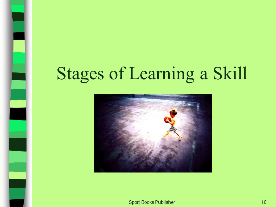Sport Books Publisher10 Stages of Learning a Skill