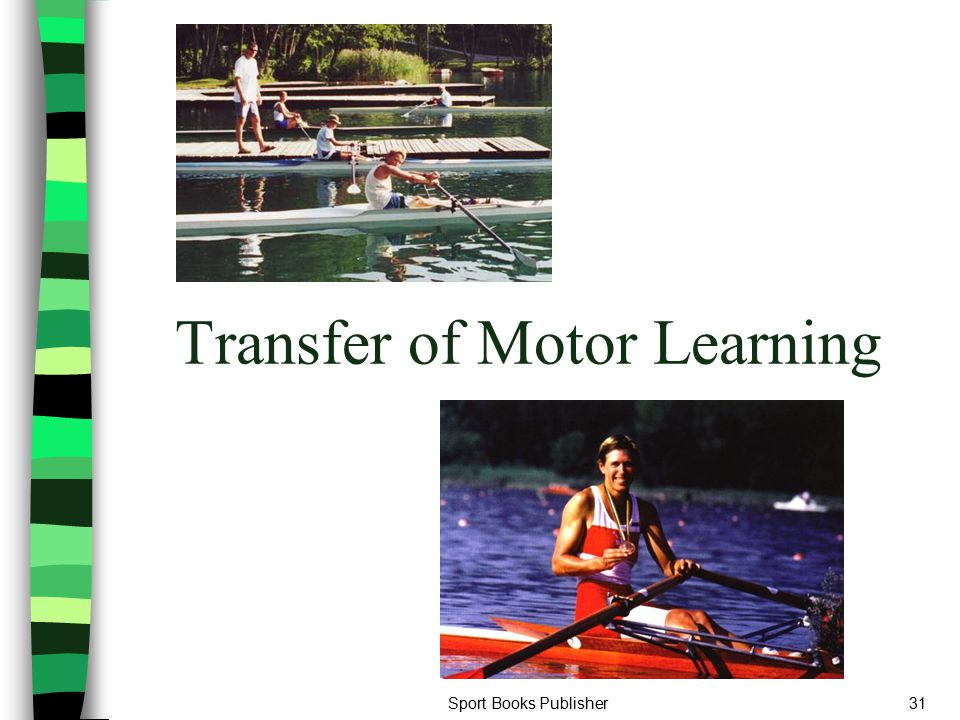 Sport Books Publisher31 Transfer of Motor Learning