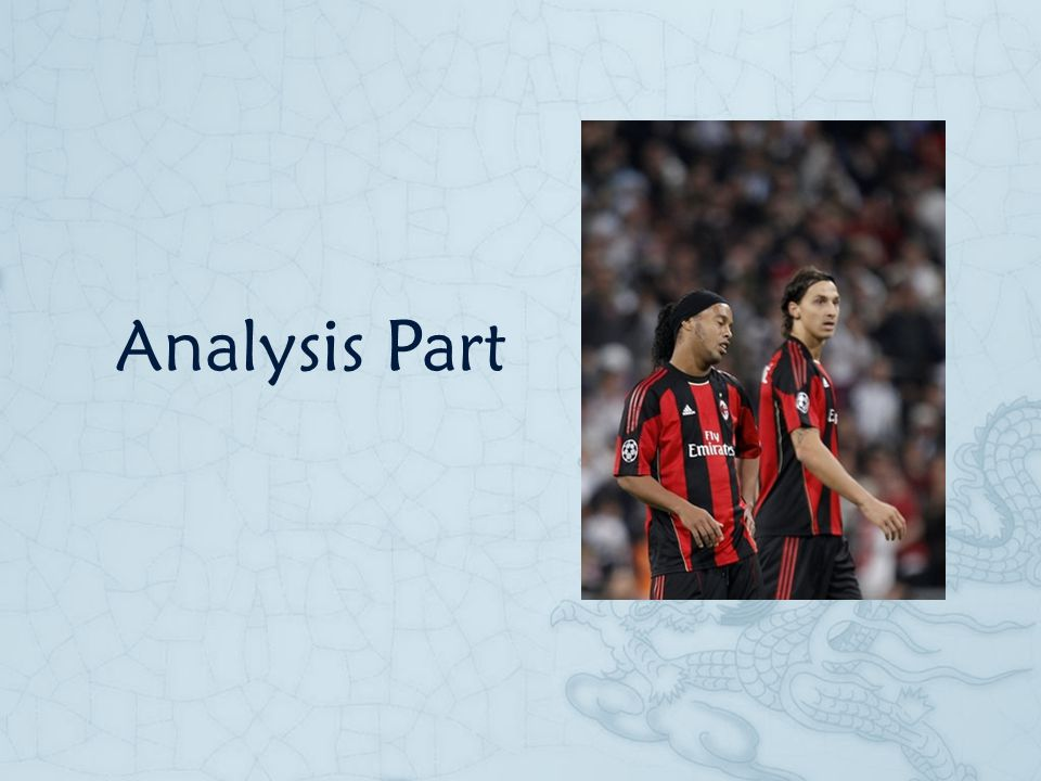 Analysis Part