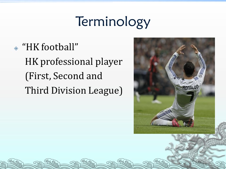 Terminology What is the definition of higher international level .