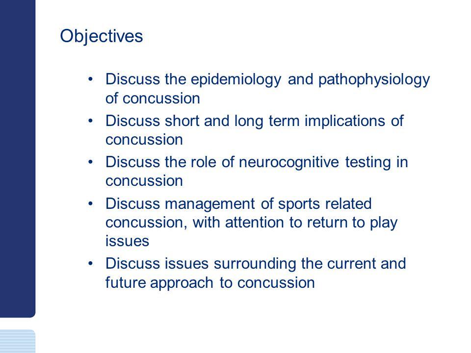 Diagnosis Clinical Imaging Postural / Balance testing / Vestibular testing Neurocognitive testing