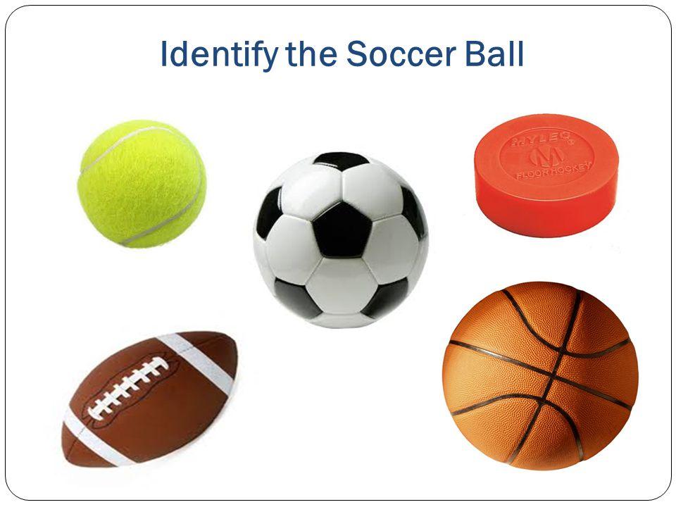 Identify the Soccer Ball