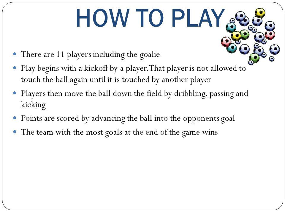 GOALTENDING Stopping the opposing team from scoring in your goal