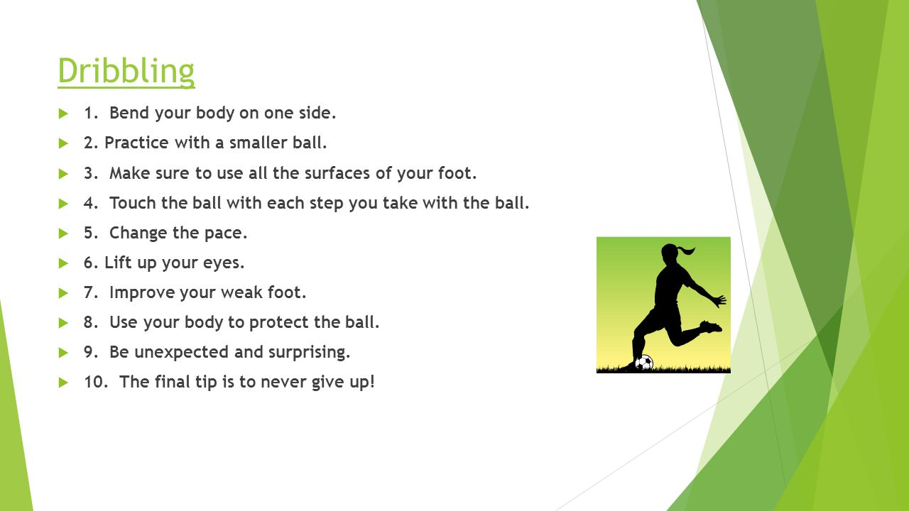 PassingPassing: to give the ball to a teammate  1.